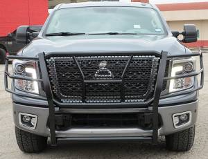 Steelcraft - Steelcraft 50-4140C HD Grille Guards, Black - Image 1