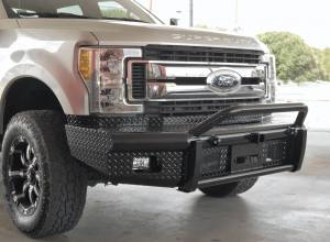 Steelcraft - Steelcraft 55-11380 HD Bullnose Front Bumper, Black - Image 3