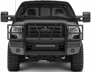 Steelcraft - Steelcraft 60-11360 Elevation Front Bumper, Fine Textured Black - Image 1