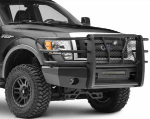 Steelcraft - Steelcraft 60-11360 Elevation Front Bumper, Fine Textured Black - Image 2