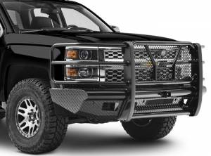 Steelcraft - Steelcraft HD10420R HD Front Bumper Replacements - Standard, Black - Image 2