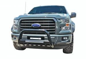 Steelcraft - Steelcraft 90-71090 LED Bull Bar, Black - Image 1