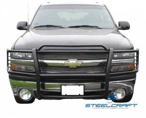 Steelcraft - Steelcraft 50020 Grille Guard, Black - Image 2