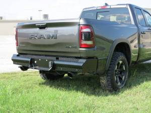 Steelcraft - Steelcraft HD22270 HD Rear Bumper Replacements, Black - Image 1