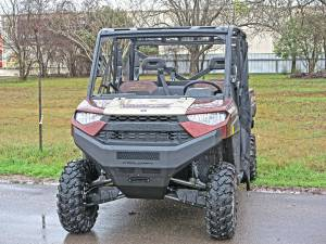 Steelcraft - Steelcraft 70-3000 UTV Front Bumper Replacement, Fine Textured Black - Image 2